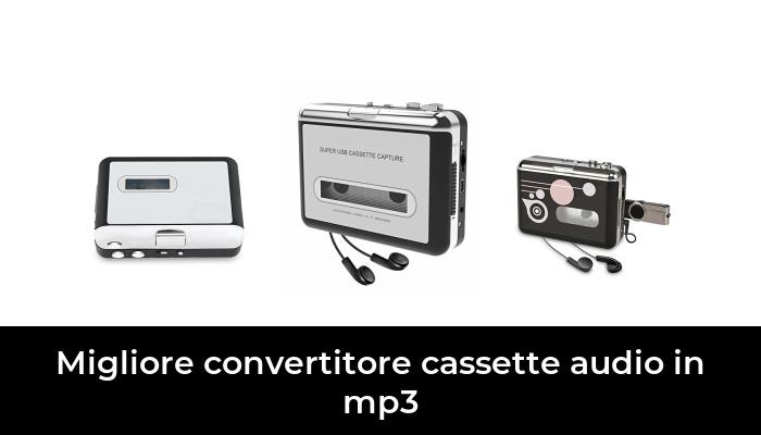 Plug And Play Convertitore da Cassette a MP3 Registratore di Lettori di Cassette Convertitore di Nastri CD MP3 Cattura Lettore di Musica Digitale TF Card Walkman Cassette Player