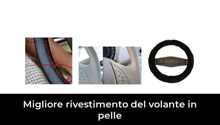 Reissner Lammfelle coprivolante Rivestimento Volante in Pelle di Agnello Rosso