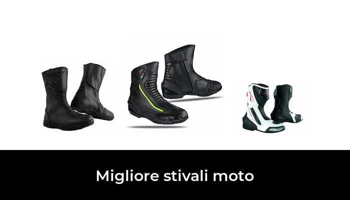 misure dal 39 al 47 impermeabili BIESSE Certificati CE colore Nero Stivaletti Moto Enduro Touring in vera pelle nero, 44